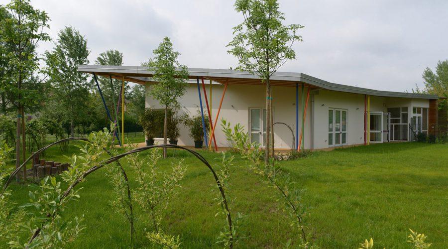 asilo nido; CasaClima A; a telaio