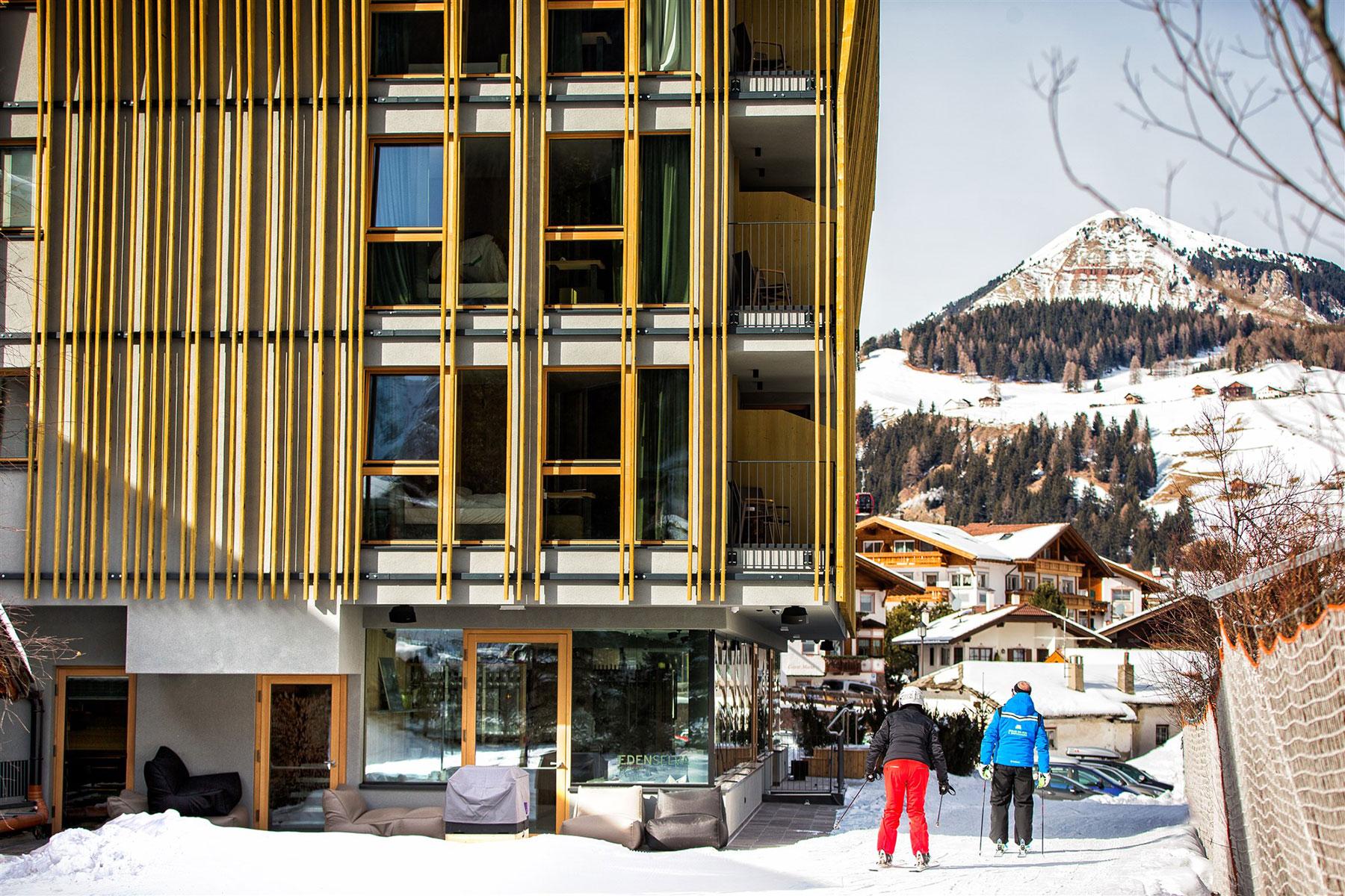 Mountain design hotel edenselva lignoalp for Design hotel eden