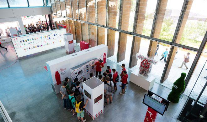 Padiglione; Coca Cola legno; struttura in legno