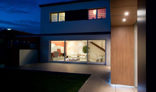 Casa Passiva; villa monofamiliare; a pannello