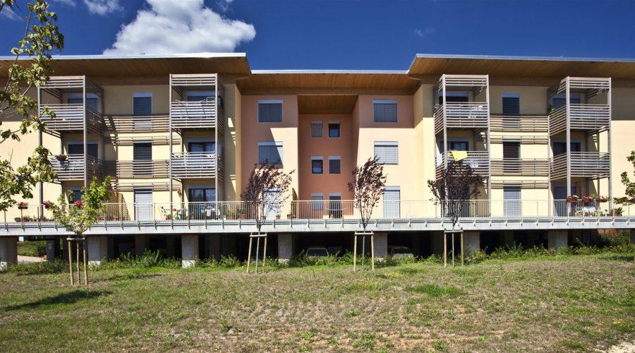 condominio legon; efficienza energetica; a telaio