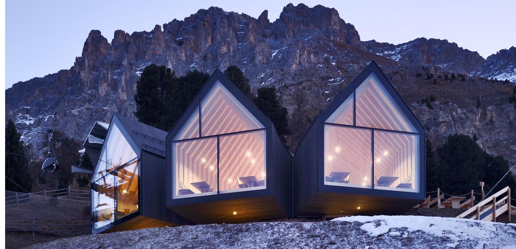 Oberholz Hütte: Berghütte Oberholz
