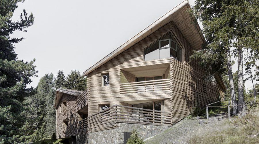 Chalet Oldes Plose Holzbaupreis