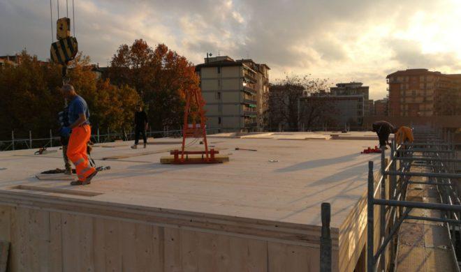 alloggi in legno; edilizia sociale; legno