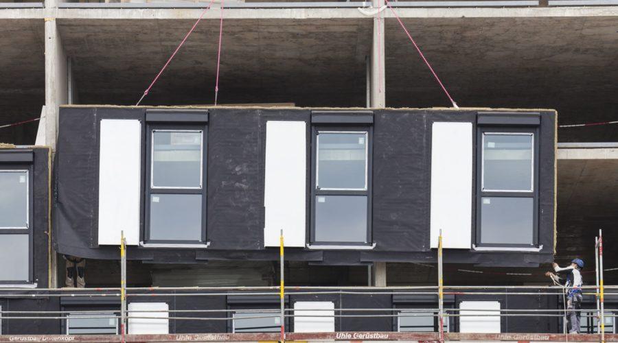 Baustellenbesichtigung in München