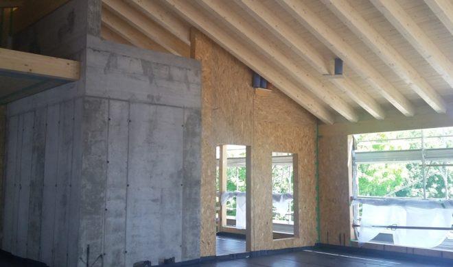 legno; cantiere casaclima; cantiere