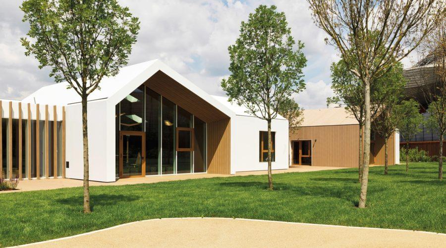 asilo legno; X-Lam; CityLife