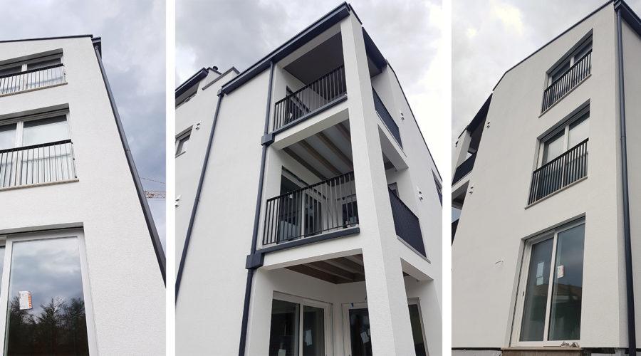 Edificio multipiano in legno residenziale