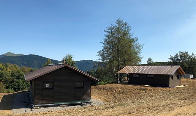 Oasi Dynamo Camp, case in legno