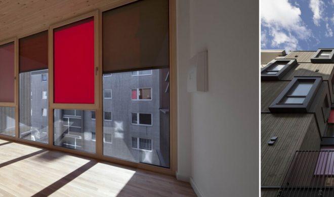 Il primo complesso residenziale multipiano a prefabbricazione avanzata in legno realizzato a Berlino