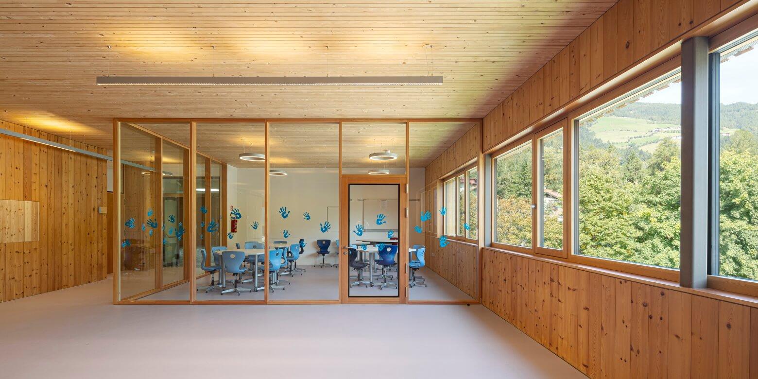 Austockung Grundschule Holzbau