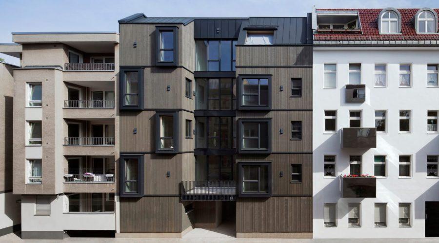 Mehrgeschossige Gebäude aus Holz