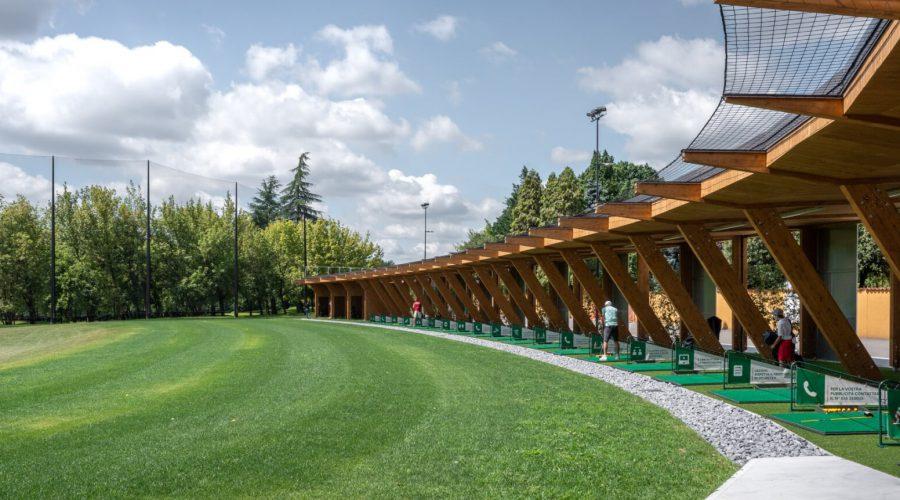 Campo pratica golf Bergamo