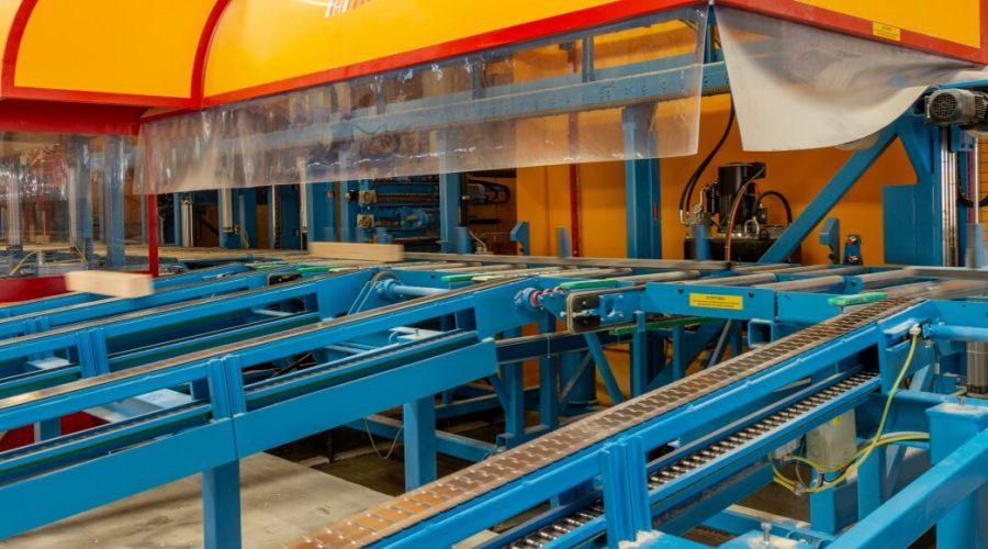 Neue Abbundanlage Hundegger K2-Industry