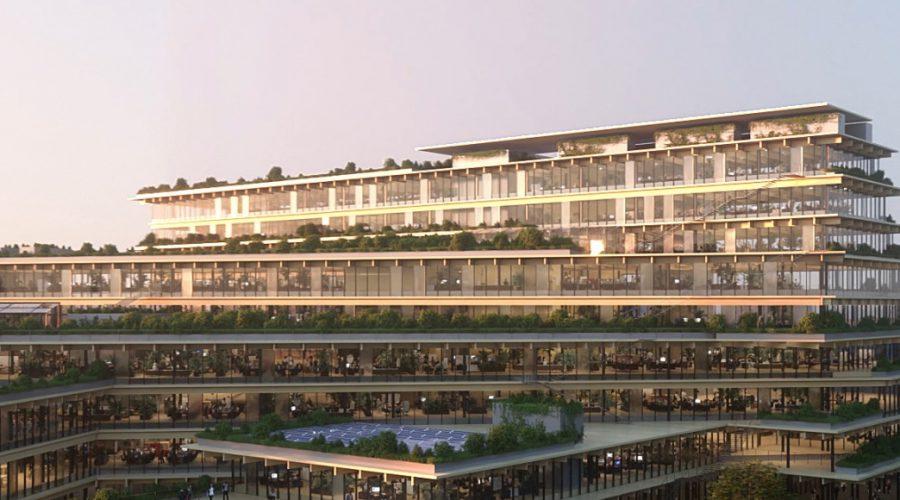 """A Milano arriva """"Welcome, feeling at work"""", l'ufficio biofilico del futuro progettato da Kengo Kuma & Associates"""