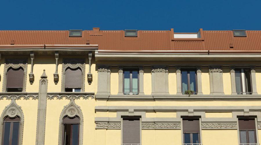Aufstockung eines Stadthauses in Mailand